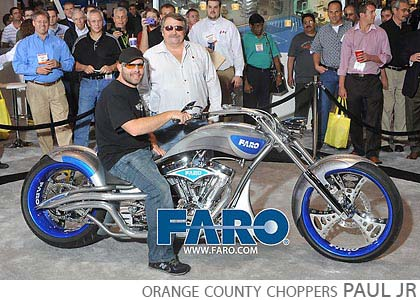 FARO quality expo mccormick place chicago orange county choppers paul jr