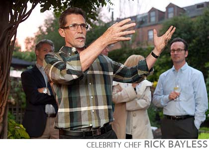 celebrity chef Rick Bayless