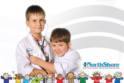 northshore health system, photo activity, Green Screen Photography
