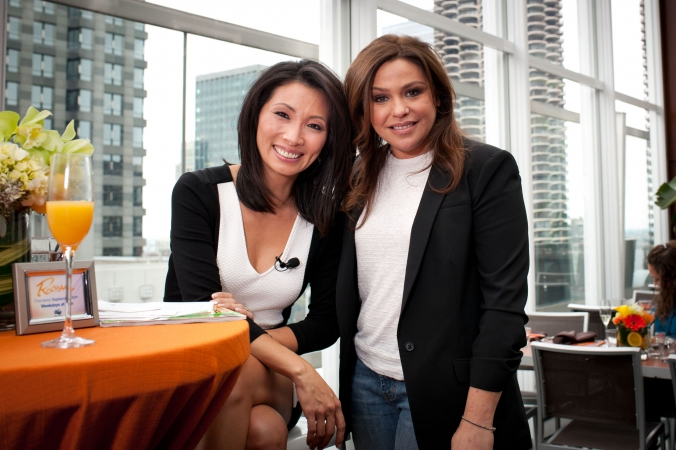 rachael ray celebrity appearance for abc7 chicago, wit hotel, the roof