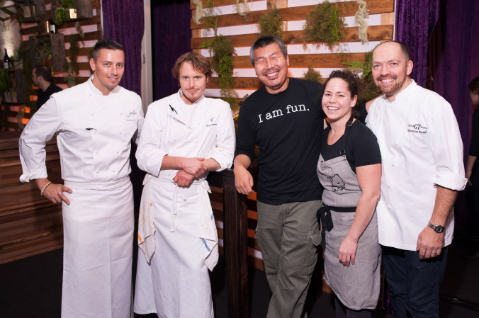 chicago celebrity chefs, curtis duffy, grant achatz, bill kim, stephanie izard, giuseppe tentori, corporate event photography by fab photo chicago