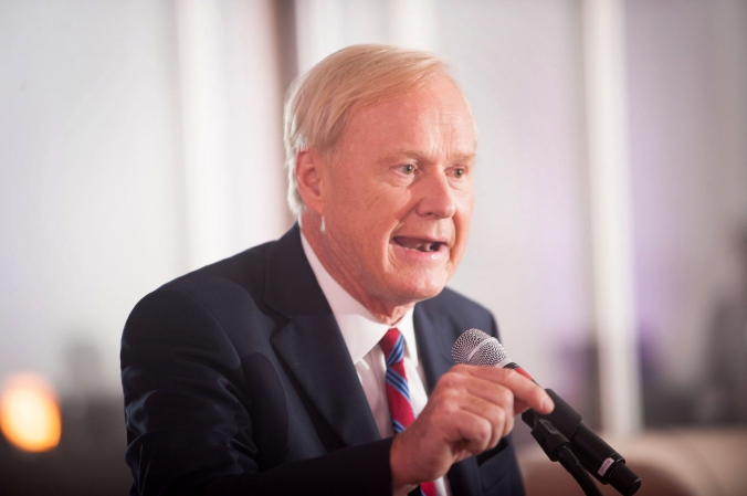 speaker photo, hardball host chris matthews, celebrity appearance at private corporate event, photography by fab photo chicago