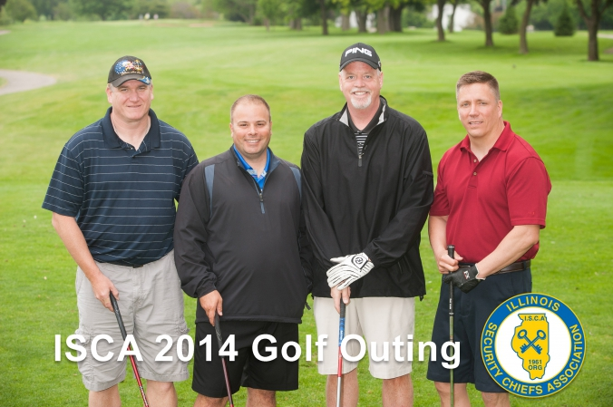 foursome golf photo, illinois security chiefs annual golf outing, sliver lake
