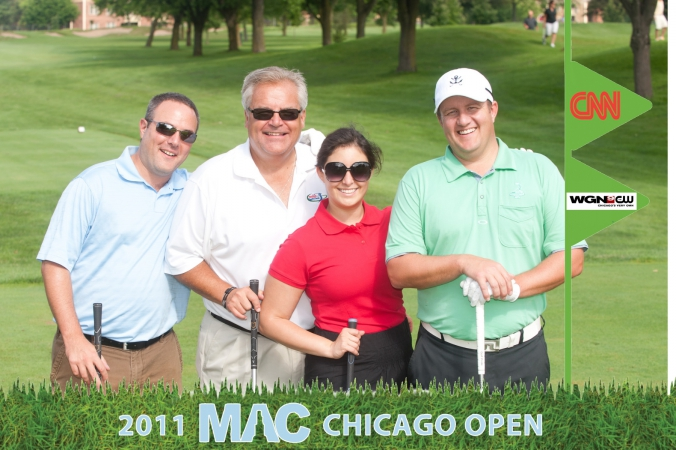 golf photo printed onsite, MAC chicago open, indian lakes resort