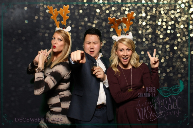 disco fabulous company holiday party photo booth