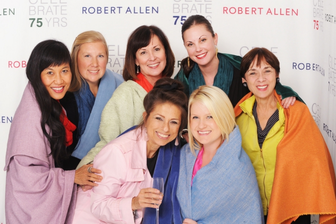 anniversary party, robert allen, on location printing, step repeat, fab photo chicago