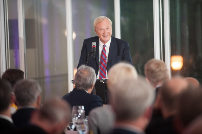 chris matthews speaks at grant thronton private event, art instititue chicago, event photography fab photo