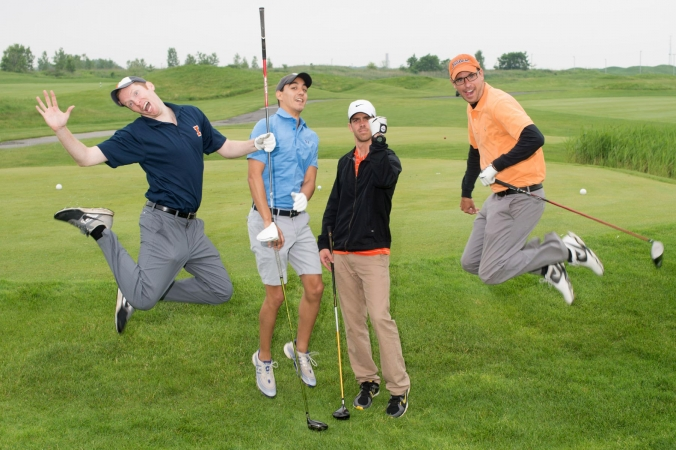 Who says golf outing photos can't be fun?