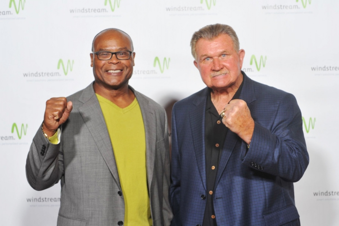 Mike Singletary, coach mike ditka, celebrity event photography by fab photo chicago