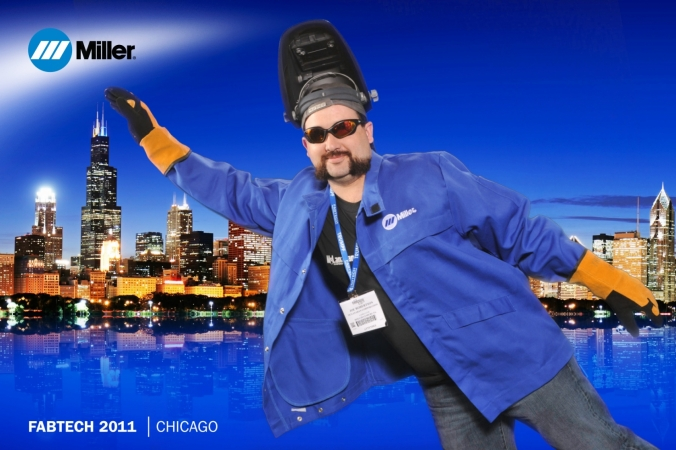 miller-welding-fabtech-greenscreen-photoraphy-fabphotochicago