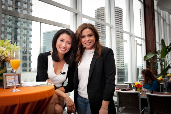 Rachel Ray makes celebrity appearance at ABC7 Chicago's private reception at the Wit Hotel, ROOF.