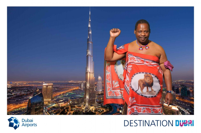 destination dubai, social media photo promotion, onsite photo activity for dubai airports, world routes chicago 2014