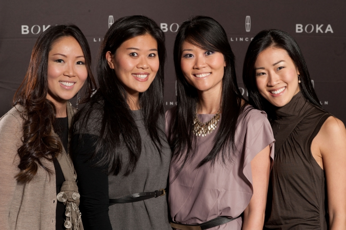 step and repeat photos printed onsite at blogger event lincoln mkz launch