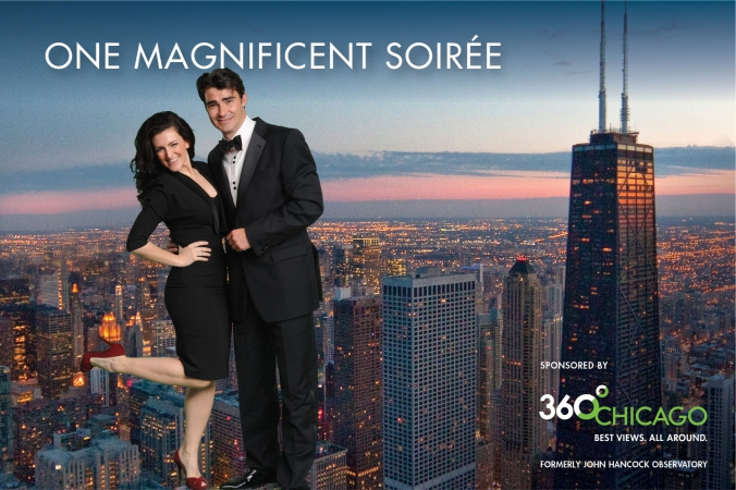 green screen photography and onsite printing, one magnificient soiree, magnificent mile association sponsored by 360 Chicago